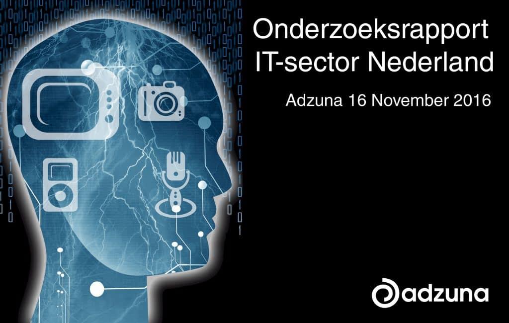 Adzuna IT Sector onderzoek Nederland
