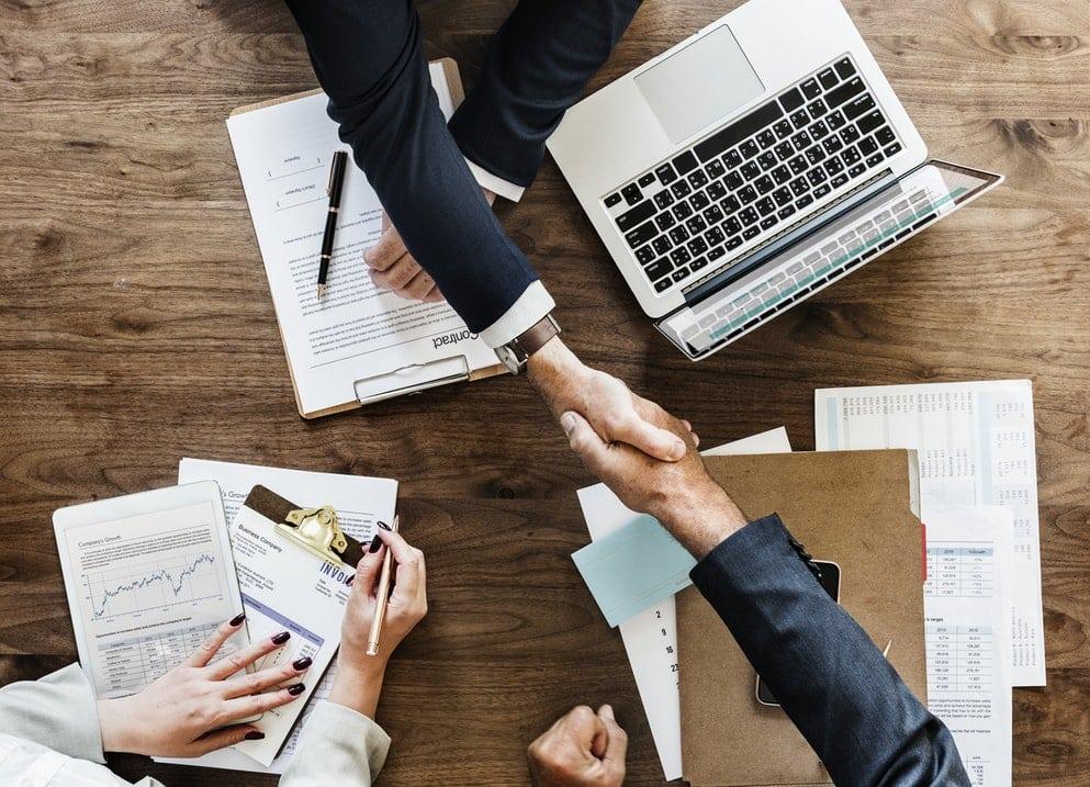 career handshake promotion contract