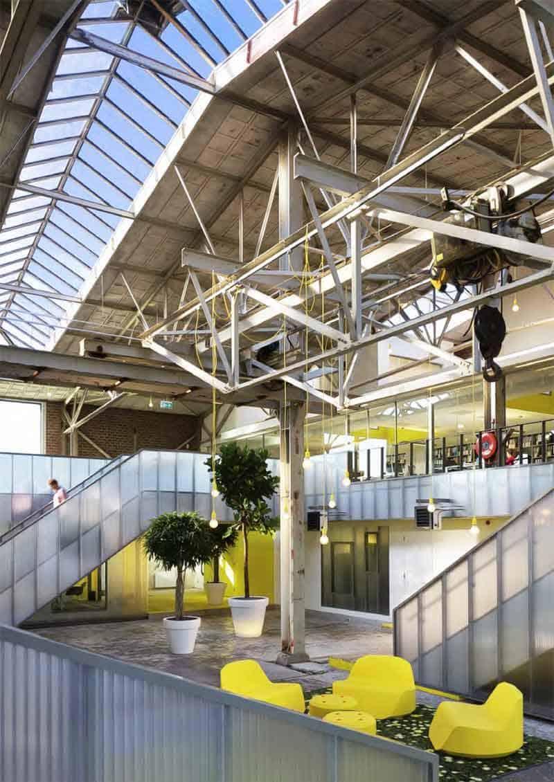 De coolste kantoren van nederland de beste werkplekken for Kantoor architect